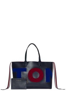 Tommy Hilfiger Blue Iconic Tote Bag