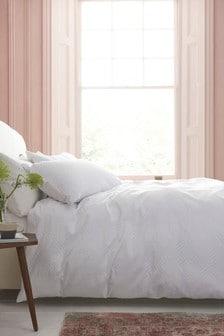 Geo Matalasse Duvet Cover and Pillowcase Set