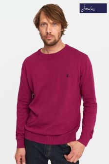 Joules Pink Crew Neck Sweater