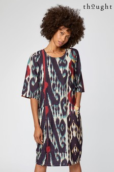 Thought Purple Jakarta Dress