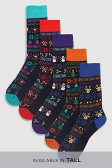 Character Socks Five Pack