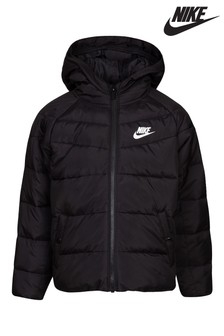 Nike Little Kids Black Filled Jacket
