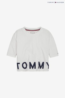 Tommy Hilfiger Girls Sport Cropped T-Shirt