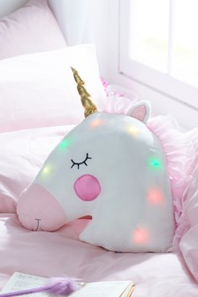 Light-Up Unicorn Cushion