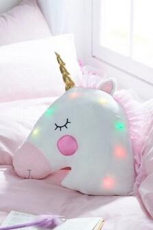Подушка-единорог с подсветкой