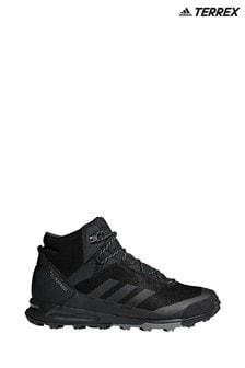 adidas Terrex Black Tivid Mid Trainers