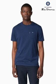 Ben Sherman Blue Classic Spade Pocket T-Shirt