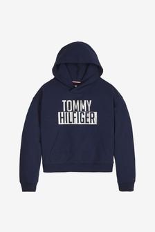 Tommy Hilfiger Blue Logo Hoody