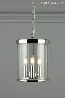 Chrome Selbourne 3 Light Lantern Ceiling Light