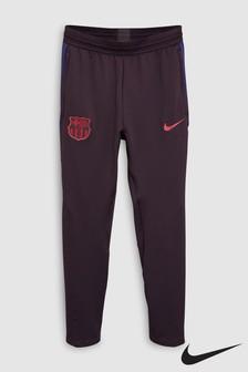 Nike Burgundy FC Barcelona Strike Joggers