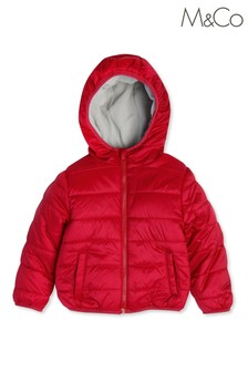 M&Co Kids Pink Padded Jacket