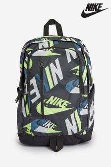 Nike Green Printed Soleday Backpack