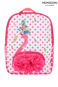 Monsoon Fruity Fun Flamingo Backpack