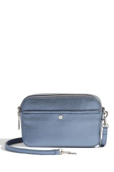 Jigsaw Blue Wren Metallic Crossbody Bag