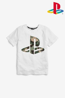 Camo PlayStation™ T-Shirt (3-16yrs)