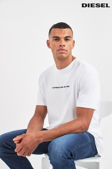 Diesel® White Copyright T-Shirt