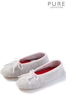 Pure Collection Pink Toccato Slipper