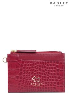 Radley Claret Small Zip Top Coin Purse