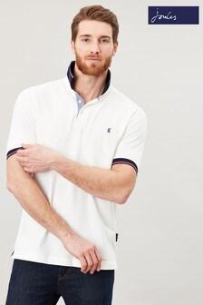 Joules White Hanfield Posh Poloshirt