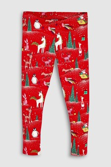 Christmas Leggings (3-16yrs)