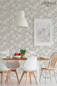 Urban Walls Scandi Flower Wallpaper
