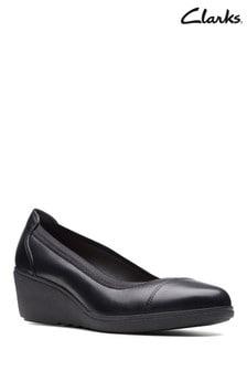 Clarks Black Un Tallara Liz Shoe