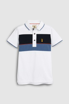Colourblock Polo T-Shirt (3-16yrs) f078488bcef5