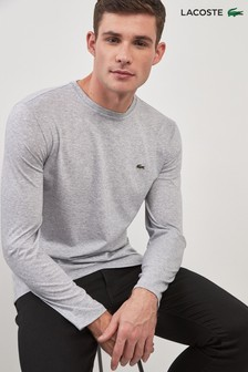 Lacoste® Grey Marl Long Sleeve Jersey