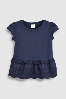 Broderie T-Shirt (3mths-7yrs)