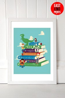 East End Prints Toy Stories by Jay Fleck Framed Print