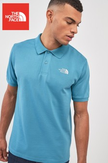 The North Face® Blue Piquet Polo