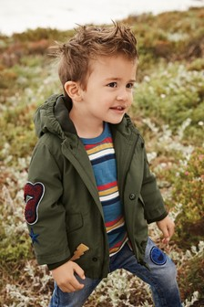 Badged Coat (3mths-7yrs)