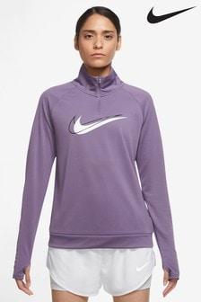 Nike Swoosh 1/2 Zip Running Top