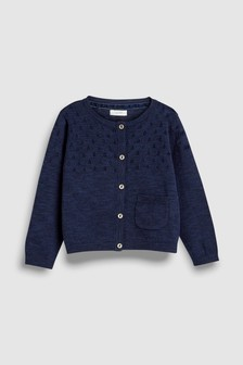 Pointelle Cardigan (3mths-7yrs)