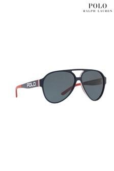 Разноцветные солнцезащитные очки-авиаторы Polo Ralph Lauren®