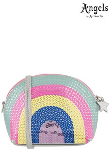 Angels By Accessorize Sequin Rainbow Cross Body Bag