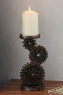 Cog Candle Stick