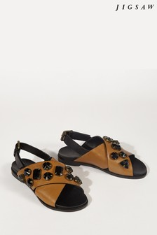 Jigsaw Clemmie Embellished Sandals
