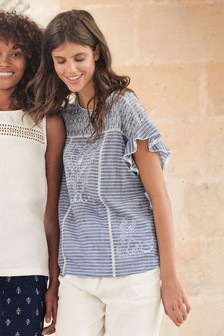 Broderie Top