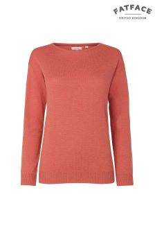 FatFace Roasted Red Zoe Jumper