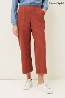 Phase Eight Natural Nora Denim Culottes