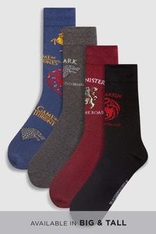 Набор из четырех пар носков