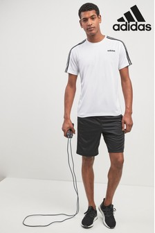 adidas Gym 3 Stripe Training Short