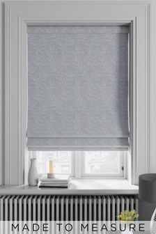 Linara Fog Blue Made To Measure Roman Blind