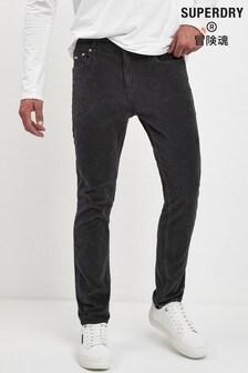 Superdry Black Slim Trousers