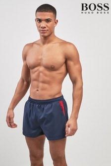 BOSS Navy Swim Short