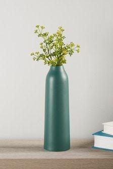Matowy wazon w kolorze jałowca