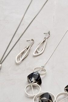 Metal Shape Earrings