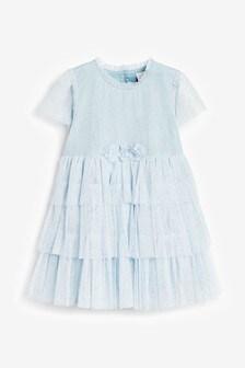 Mesh Corsage Dress (3mths-7yrs)
