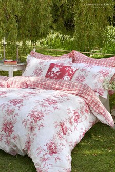 Cabbages & Roses Charlotte Floral Cotton Duvet Cover
